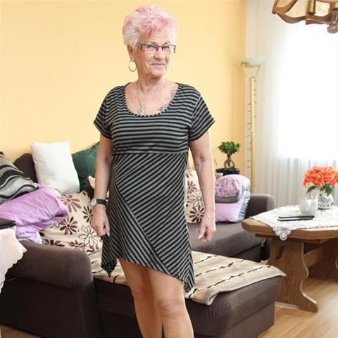 Ontmoeting met deze 65-jarige vrouw